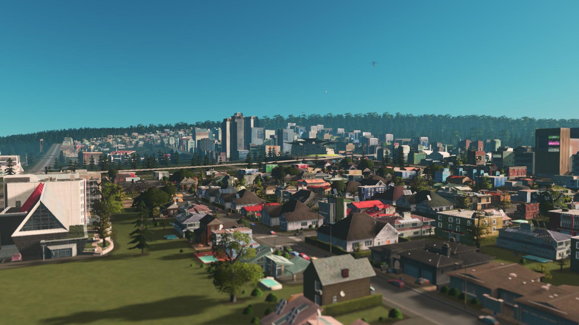 Стандартный стиль cities skylines