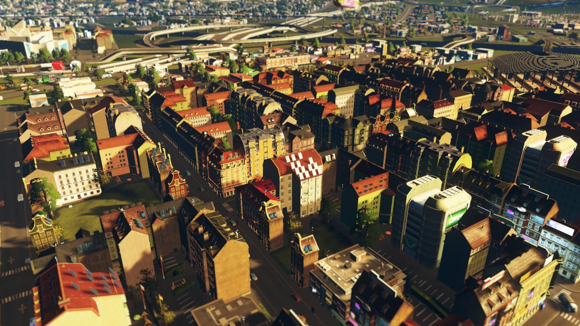Стиль cities skylines