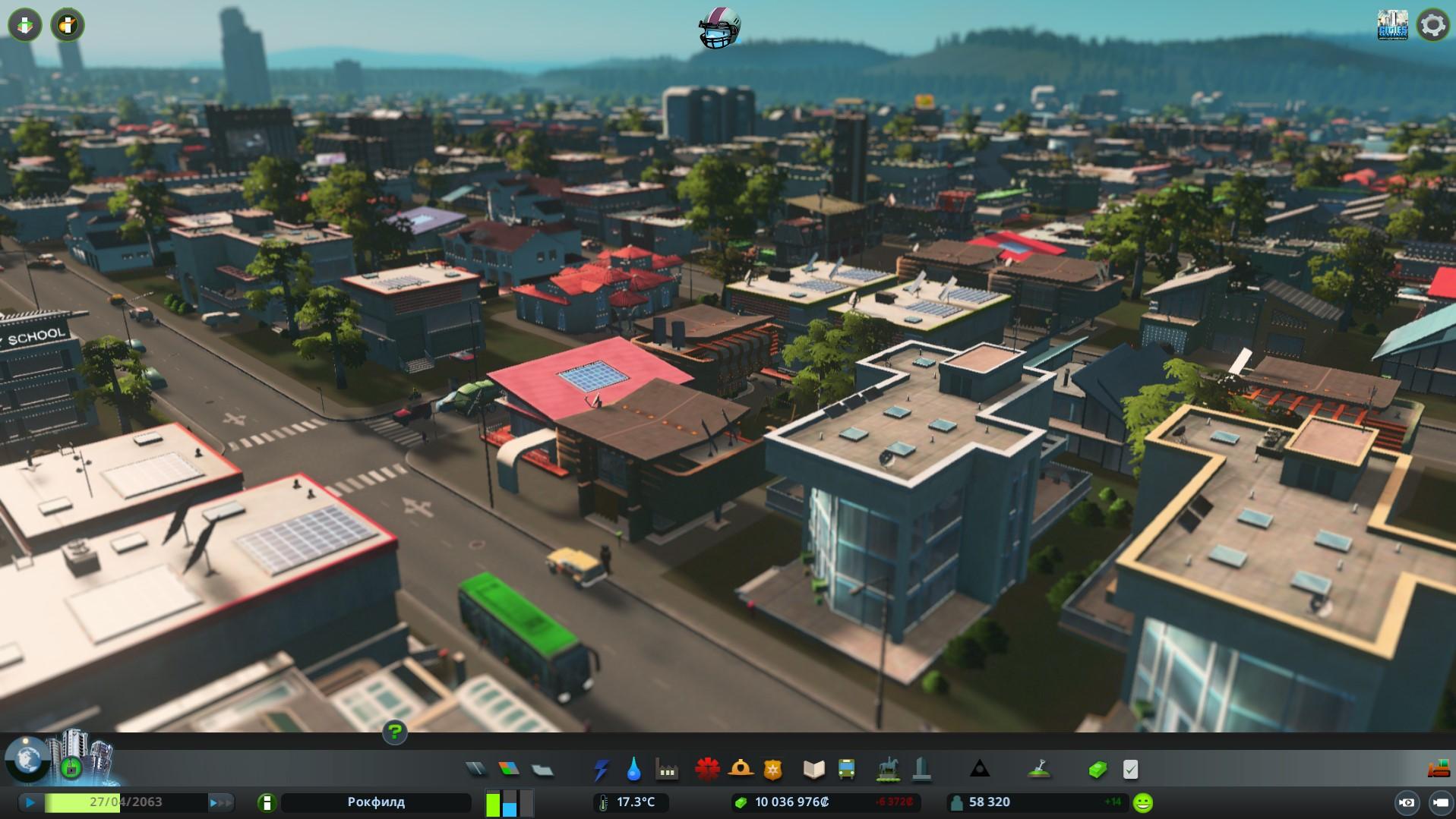 Архитектурный стиль cities skylines
